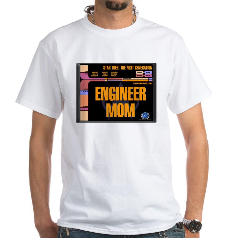 Engineer Mom White T-Shirt