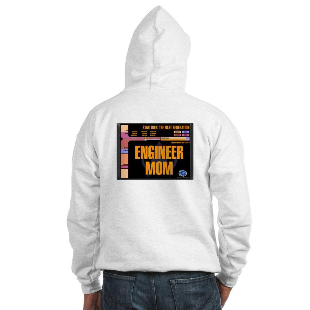 Engineer Mom Hooded Sweatshirt