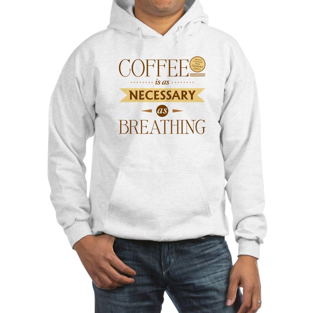 Coffee and Breathing Hooded Sweatshirt