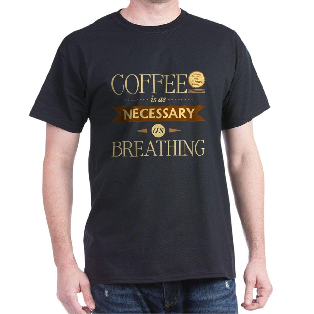 Coffee and Breathing Dark T-Shirt