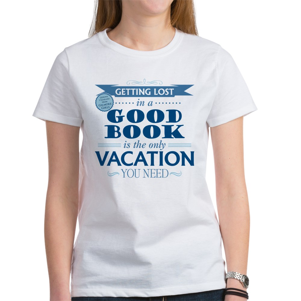 Lost in a Good Book Women's T-Shirt