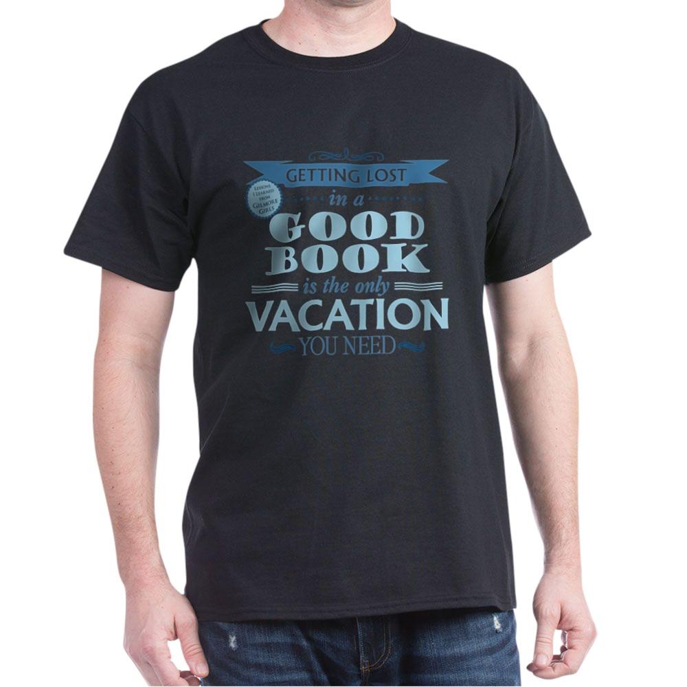 Lost in a Good Book Dark T-Shirt
