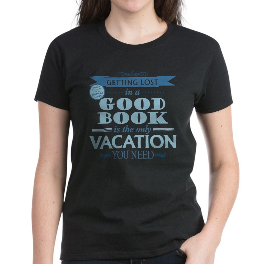 Lost in a Good Book Women's Dark T-Shirt