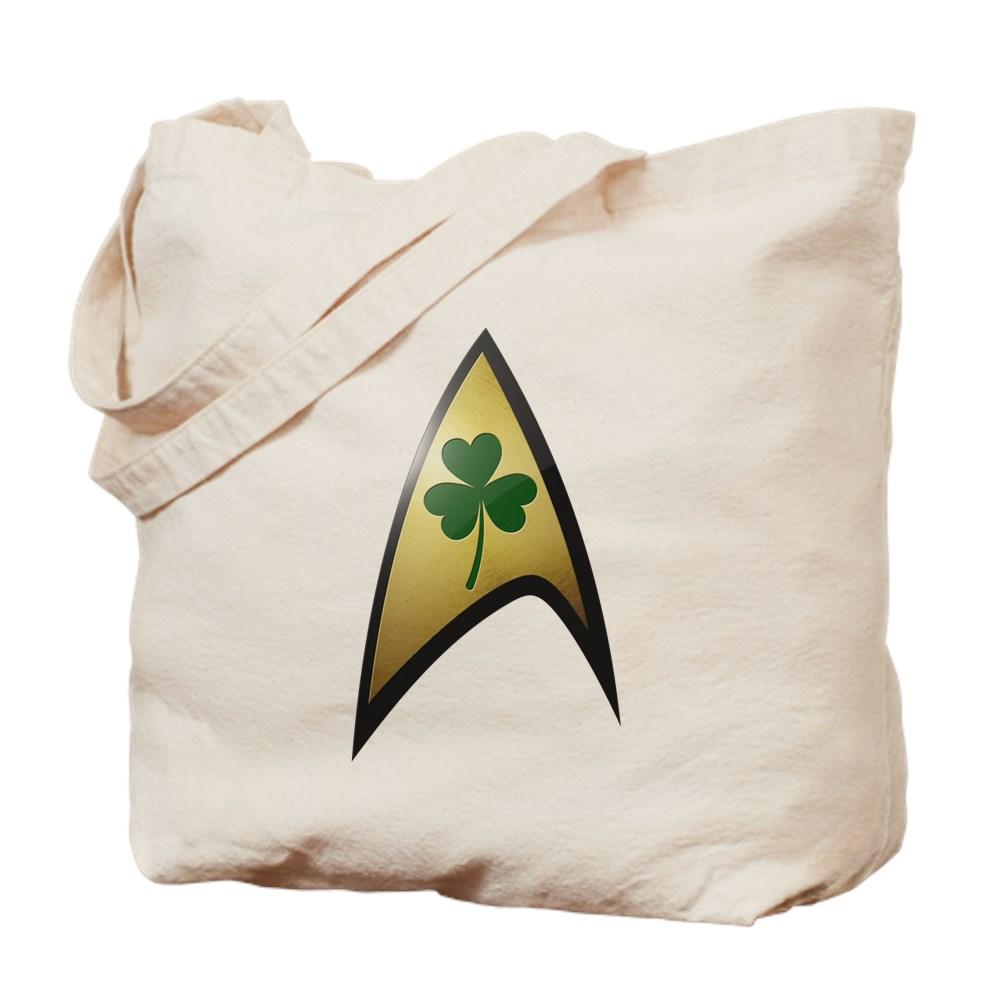 Star Trek Shamrock Tote Bag