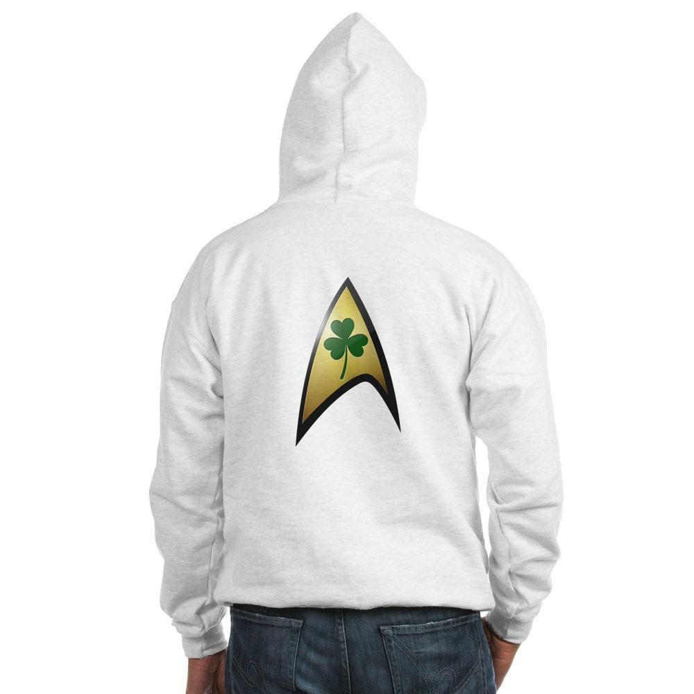 Star Trek Shamrock Hooded Sweatshirt