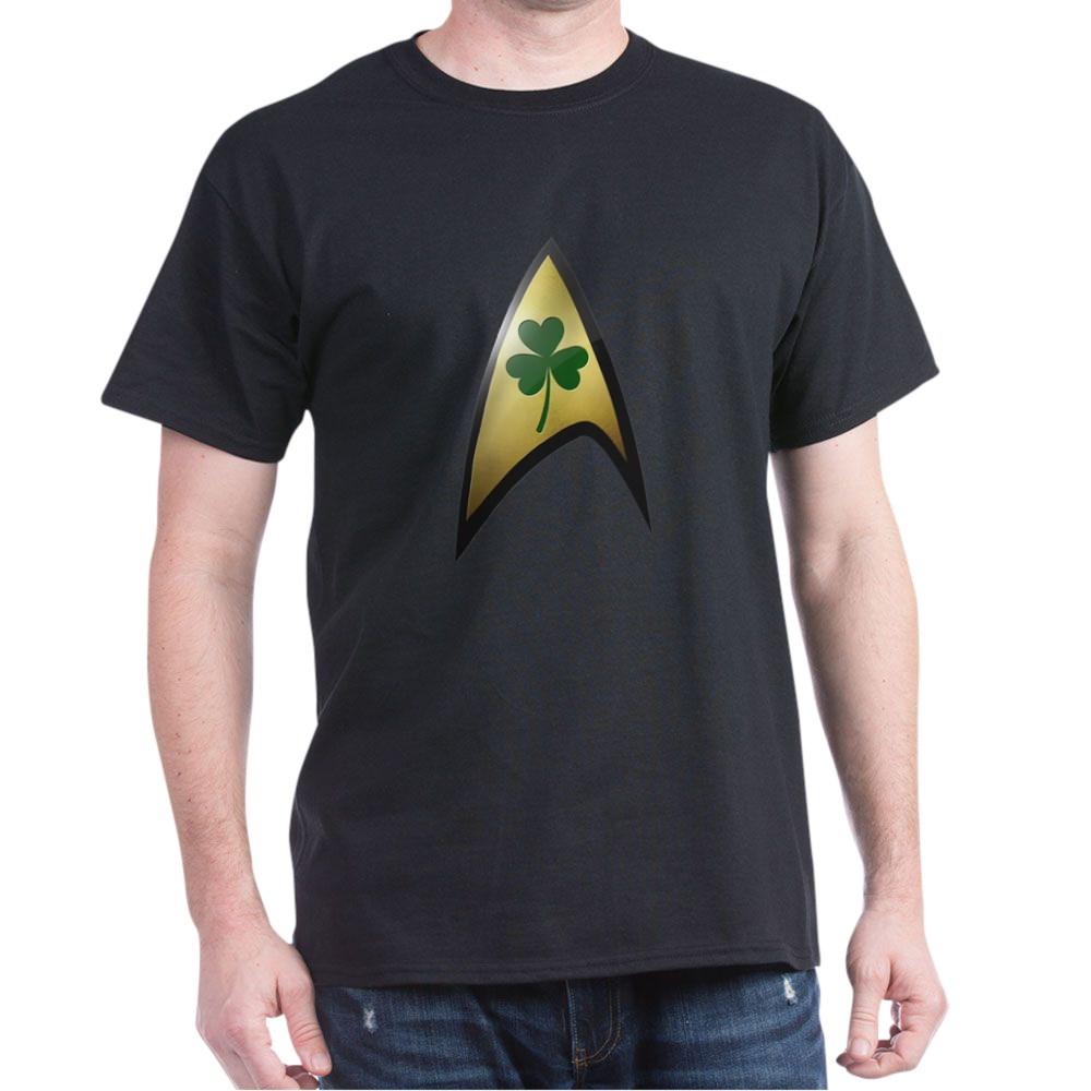 Star Trek Shamrock Dark T-Shirt