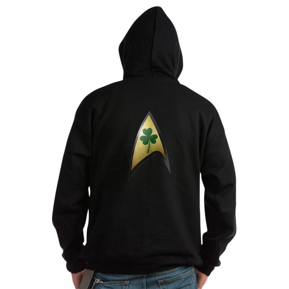 Star Trek Shamrock Dark Hoodie