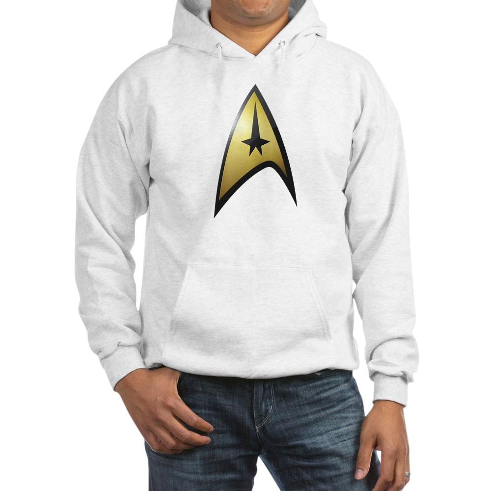 Star Trek: TOS Command Emblem Hooded Sweatshirt