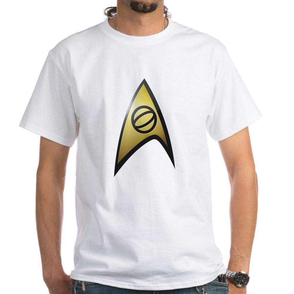 Star Trek: TOS Science White T-Shirt