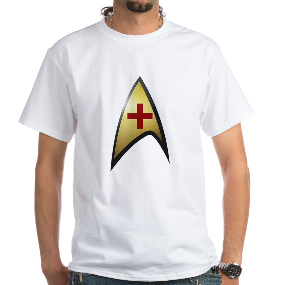 Star Trek: TOS Medical White T-Shirt
