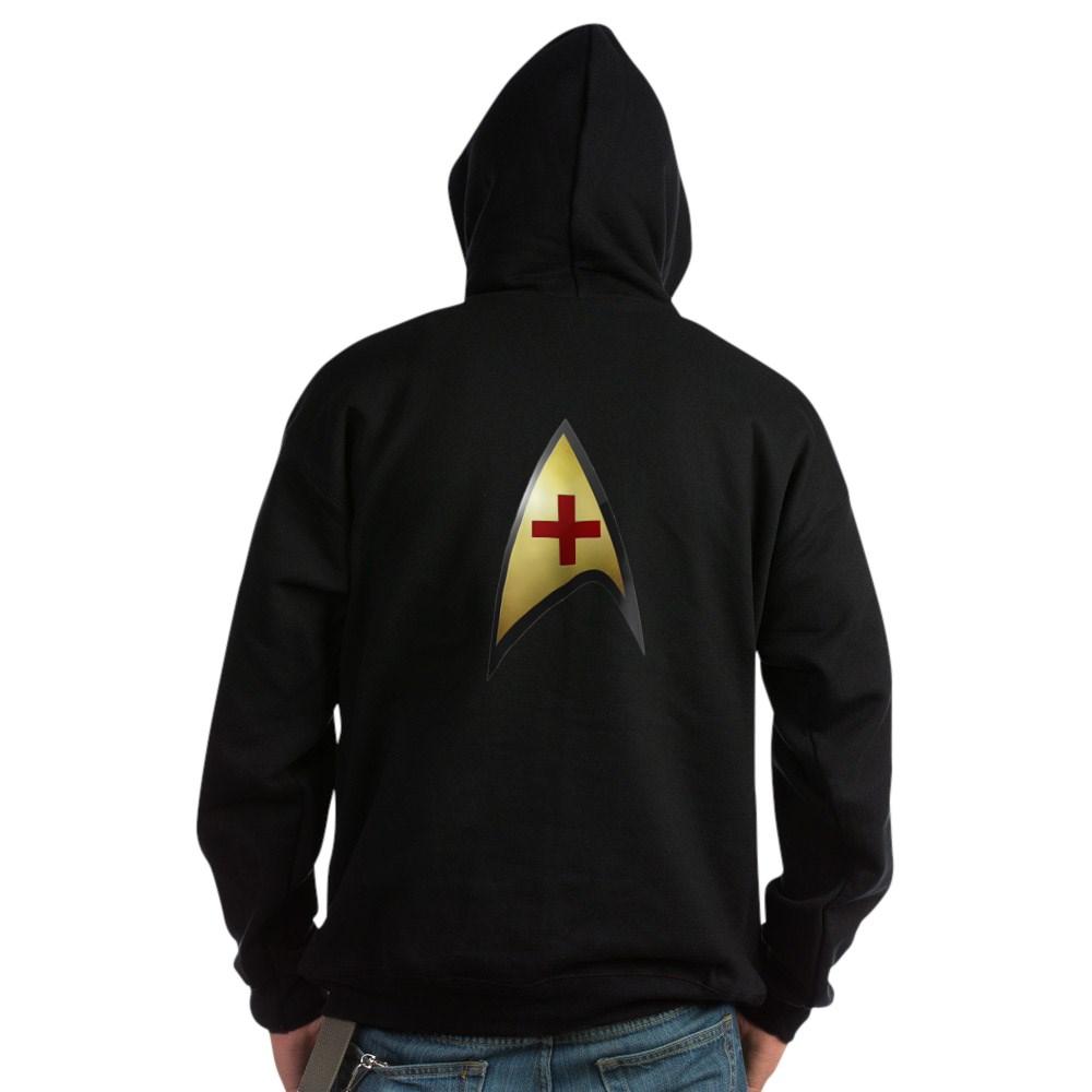 Star Trek: TOS Medical Dark Hoodie