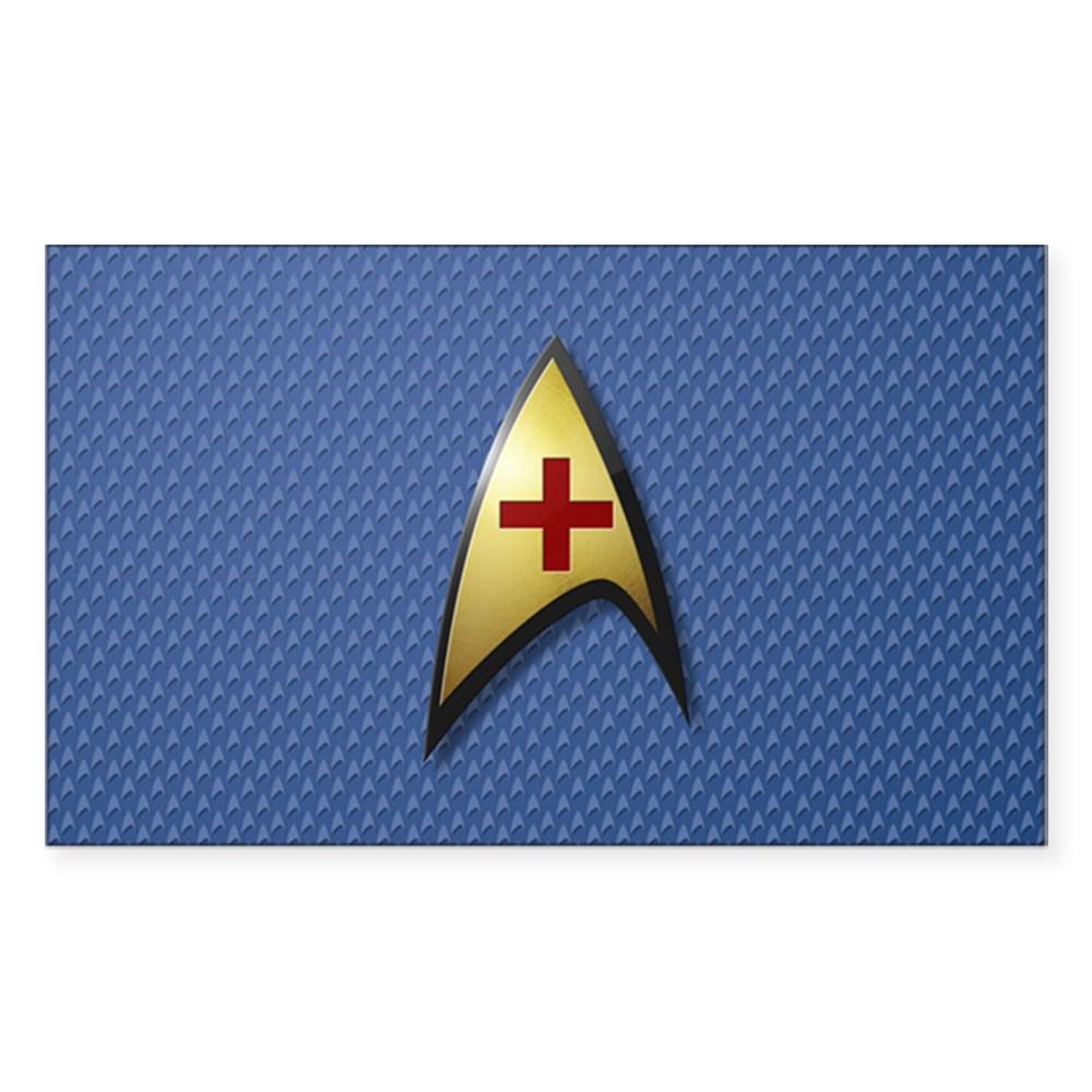 Star Trek: TOS Medical Rectangle Sticker