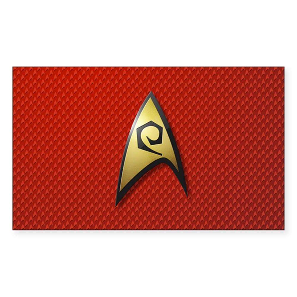 Star Trek: TOS Operations Rectangle Sticker