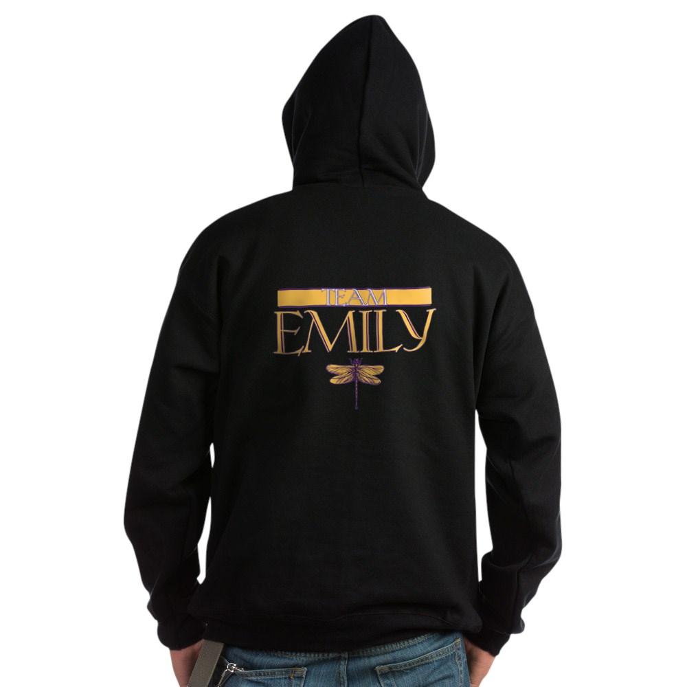Team Emily Dark Hoodie