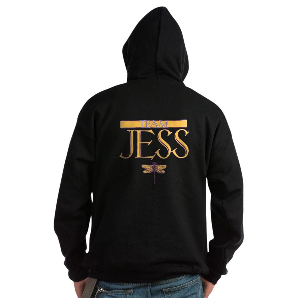 Team Jess Dark Hoodie