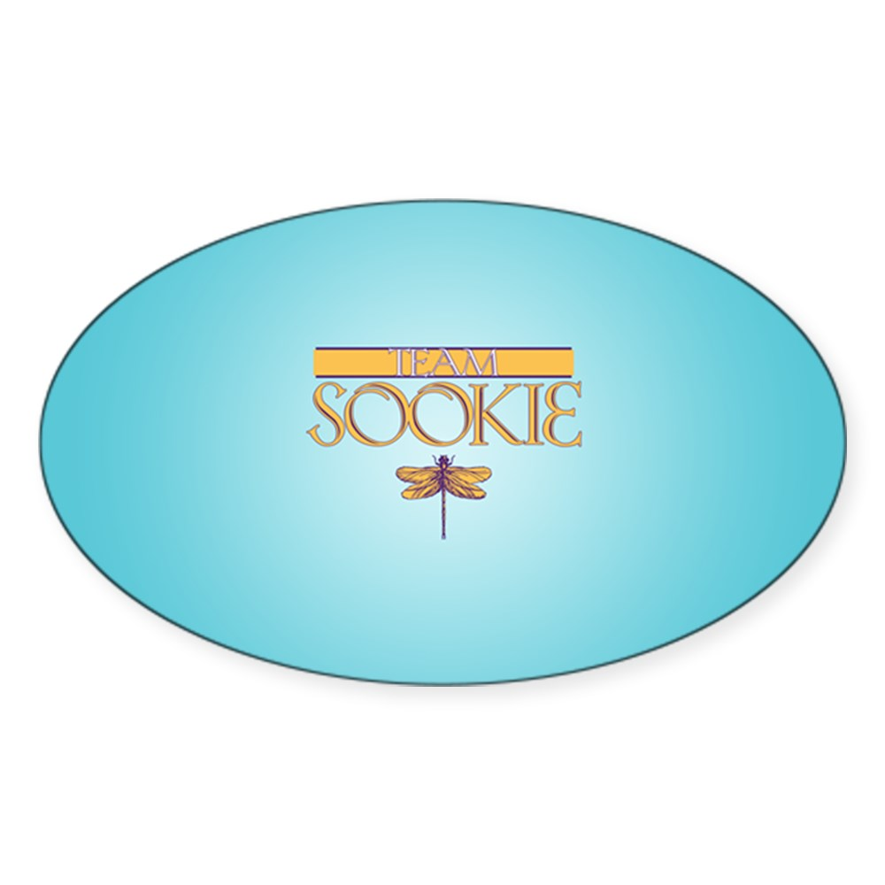 Team Sookie Oval Sticker