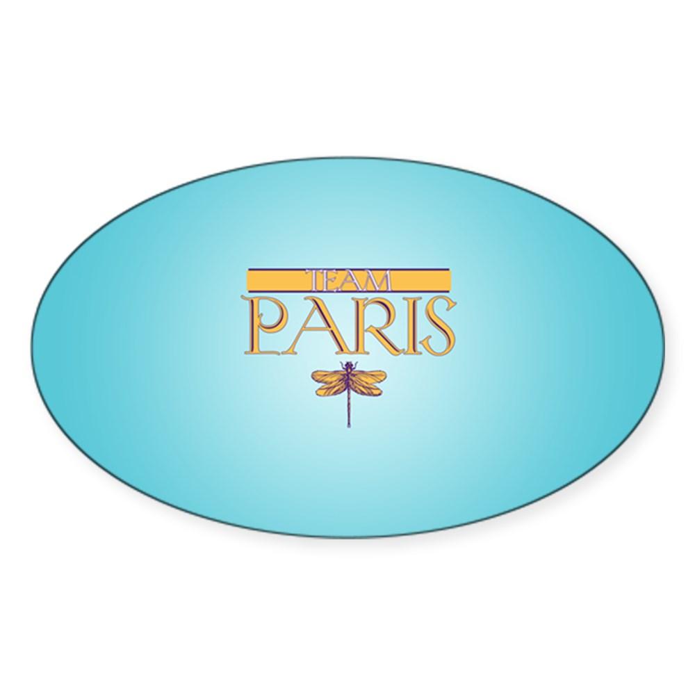 Team Paris Oval Sticker