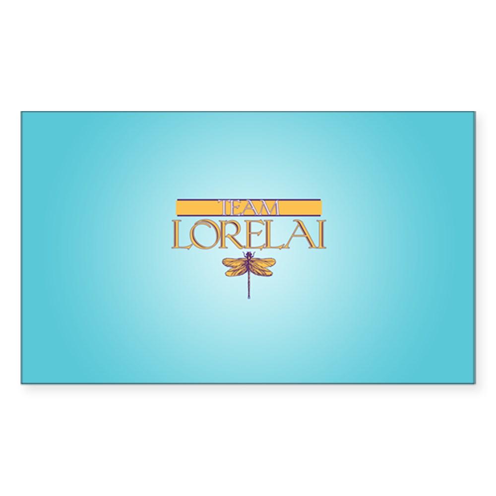 Team Lorelai Rectangle Sticker