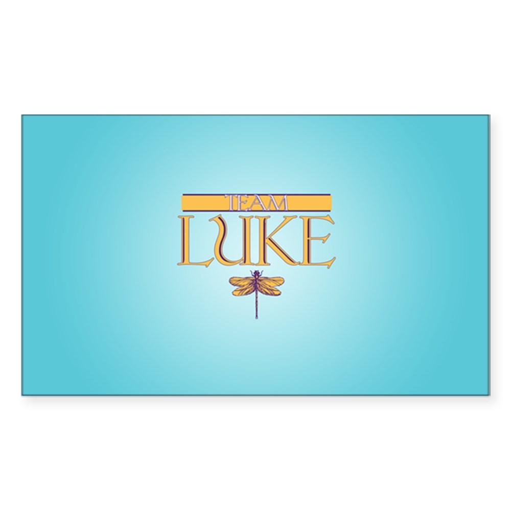Team Luke Rectangle Sticker
