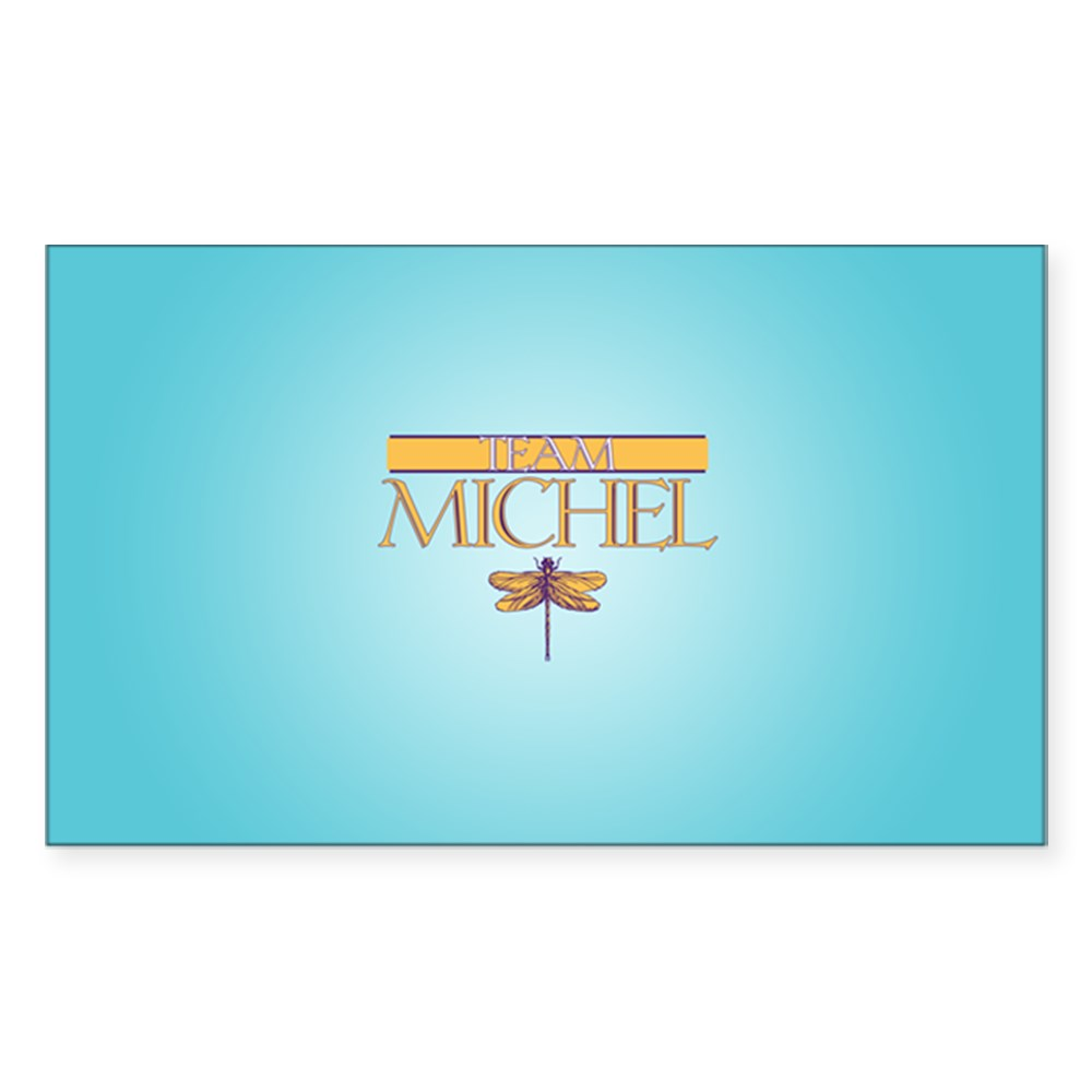 Team Michel Rectangle Sticker
