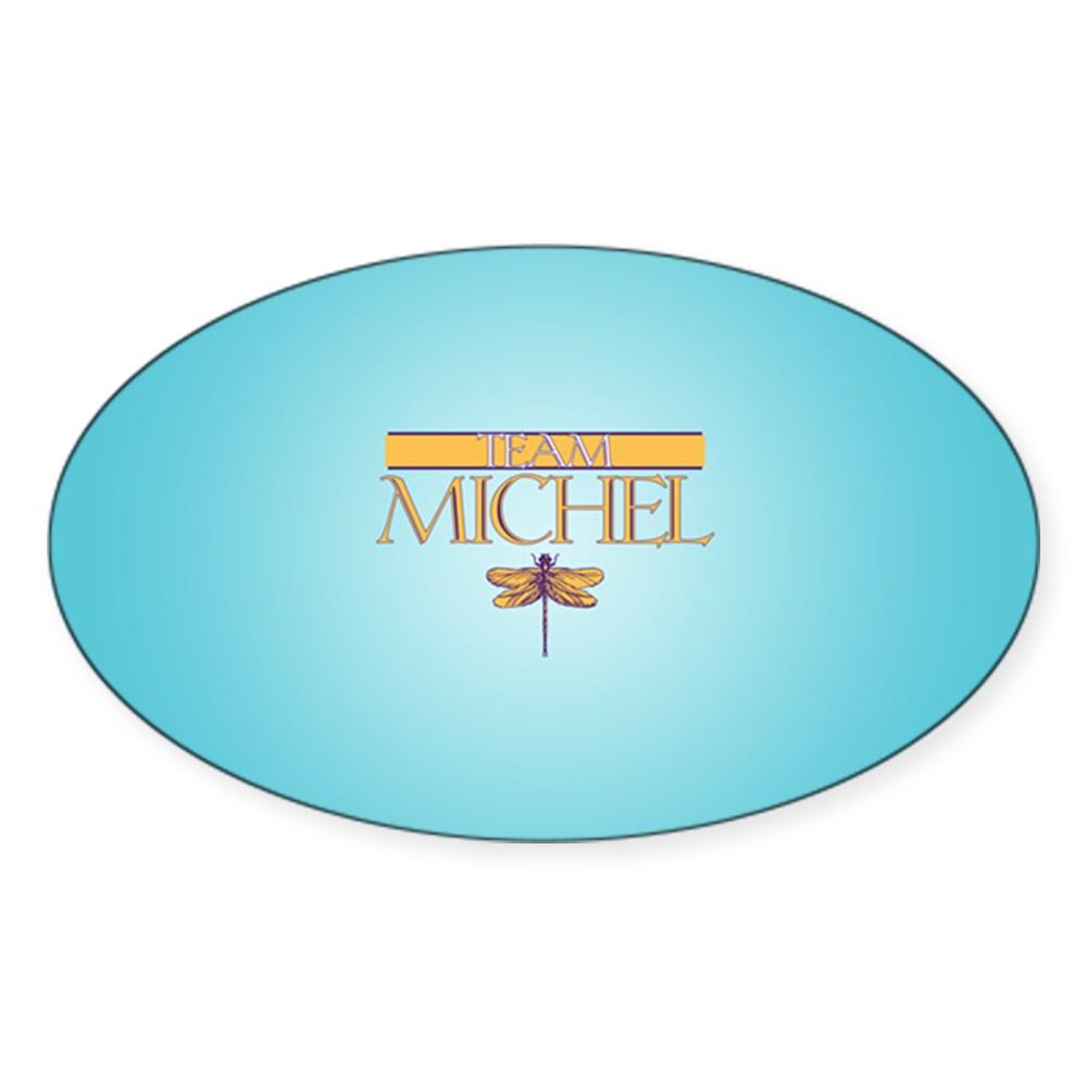 Team Michel Oval Sticker