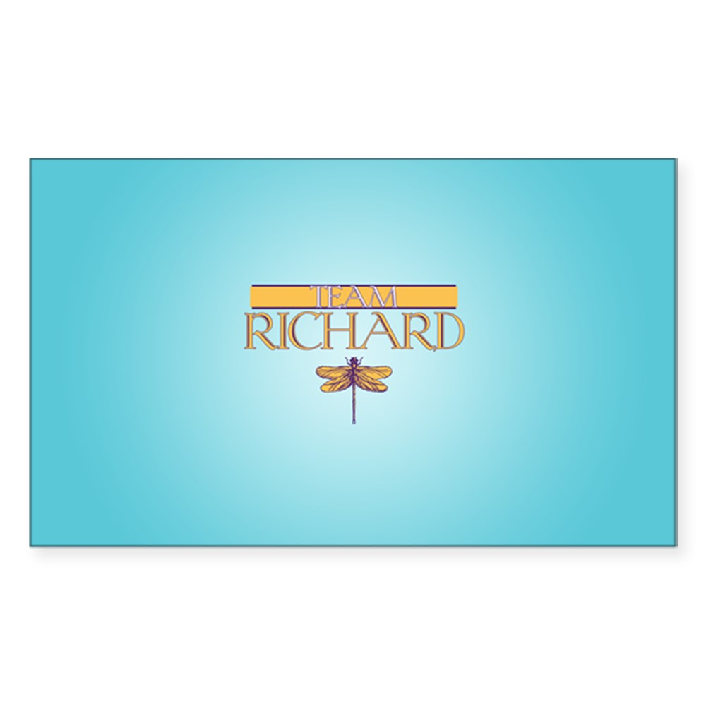 Team Richard Rectangle Sticker