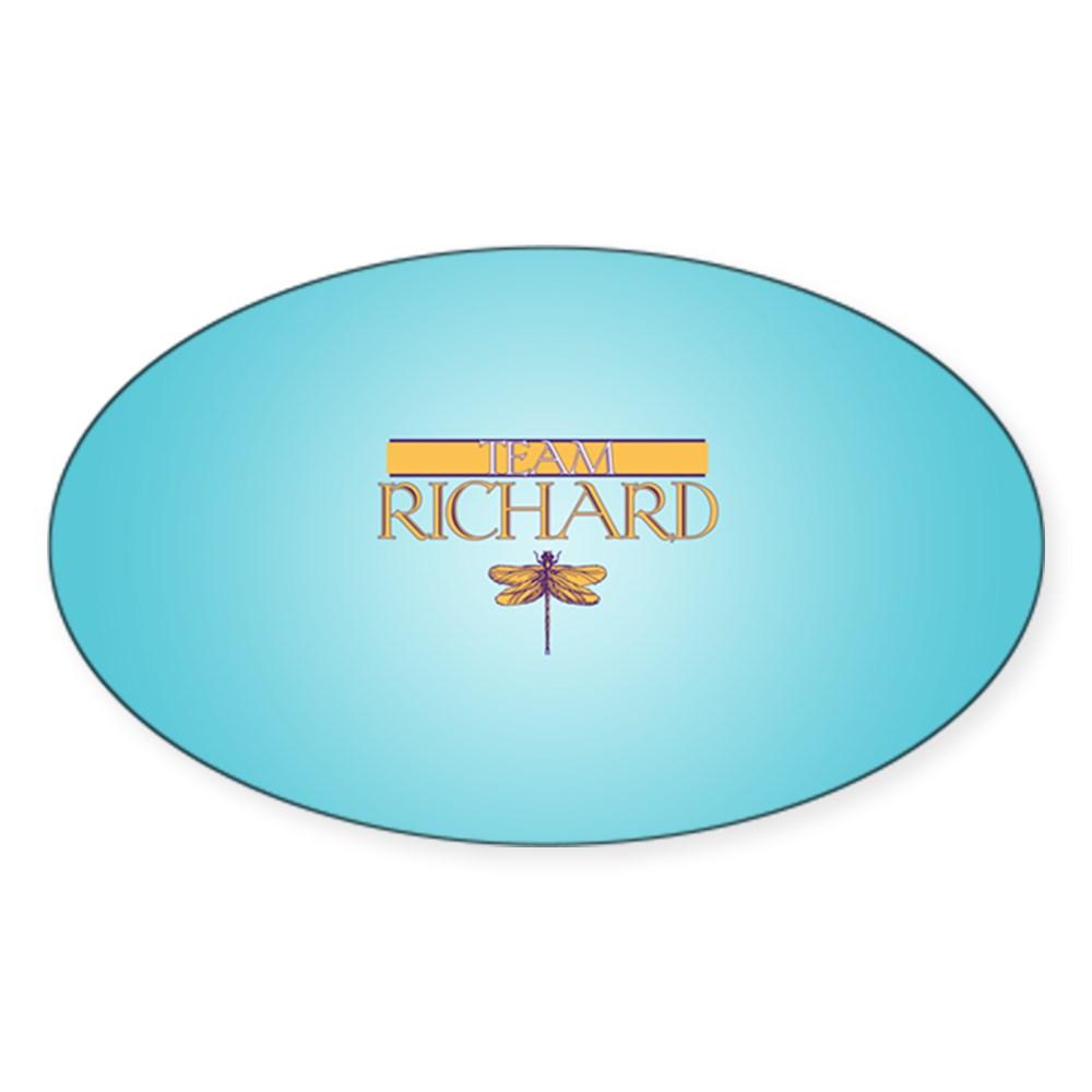 Team Richard Oval Sticker