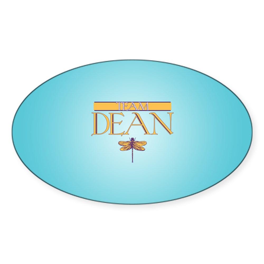 Team Dean Oval Sticker