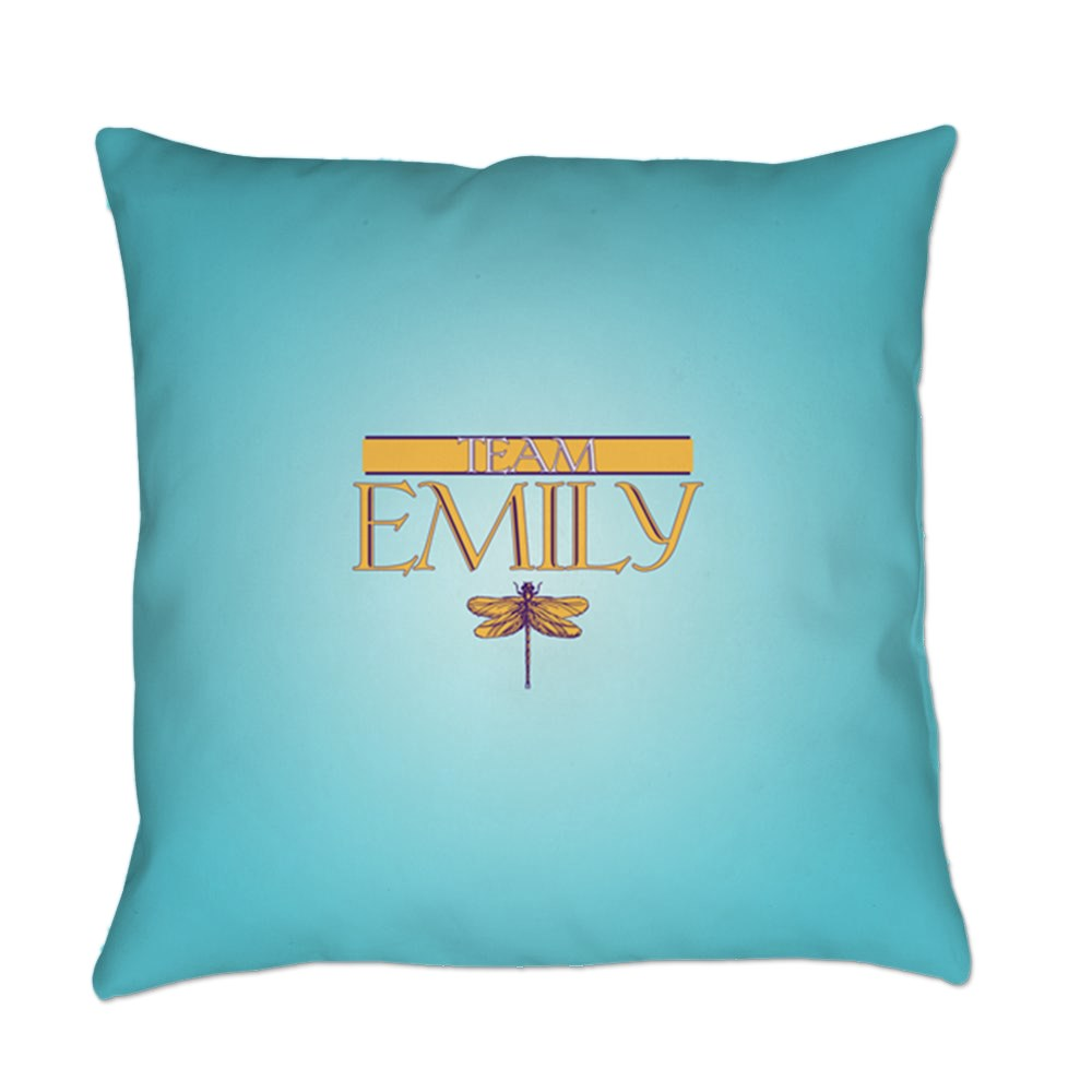 Team Emily Everyday Pillow