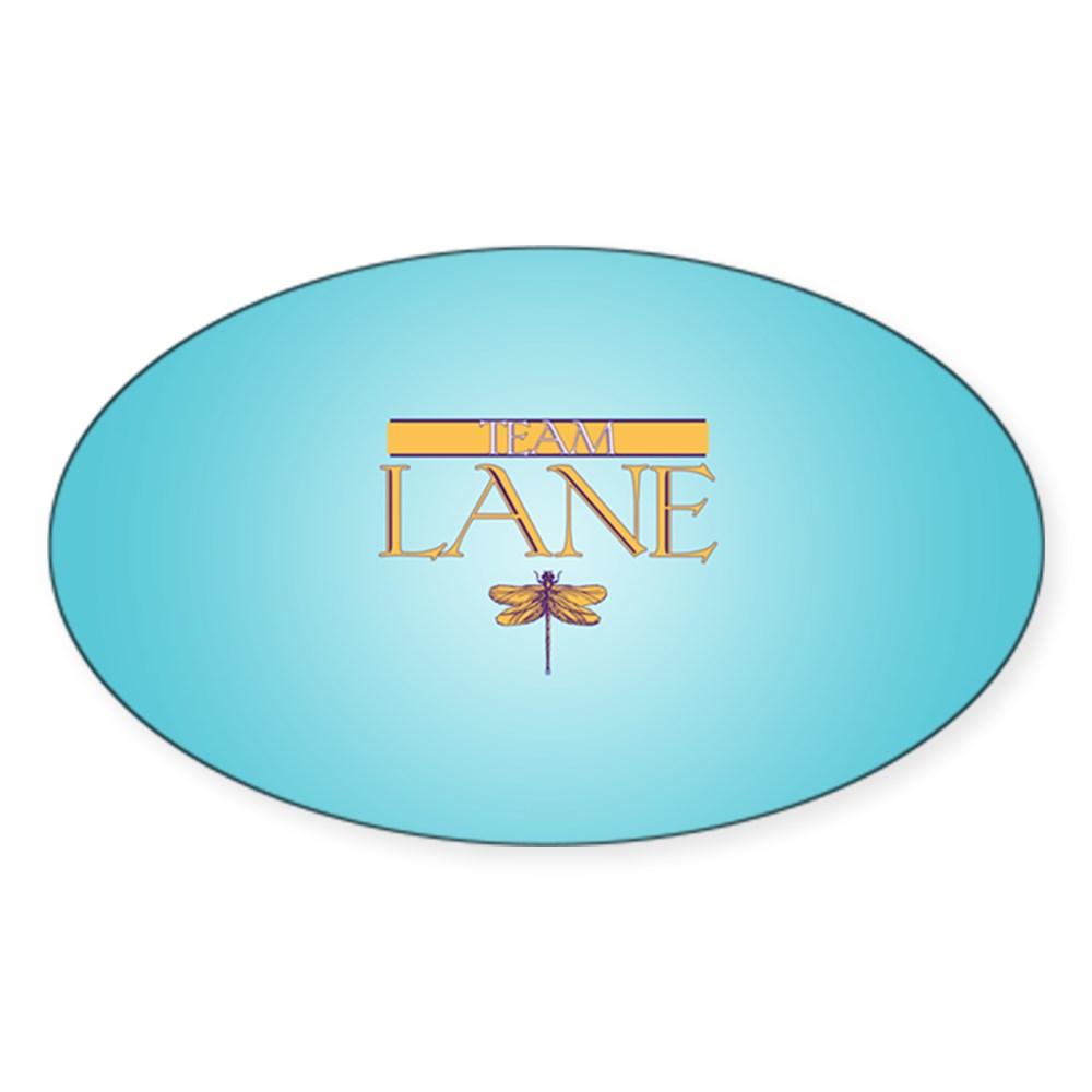 Team Lane Oval Sticker