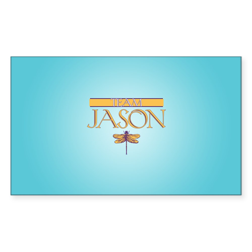 Team Jason Rectangle Sticker