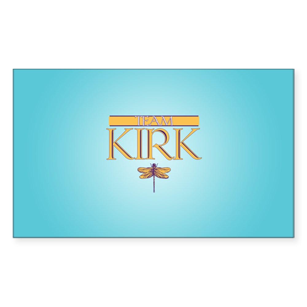Team Kirk Rectangle Sticker