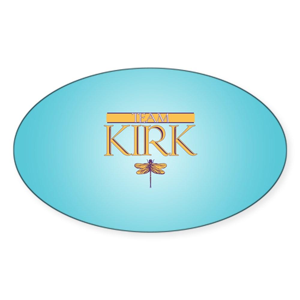 Team Kirk Oval Sticker