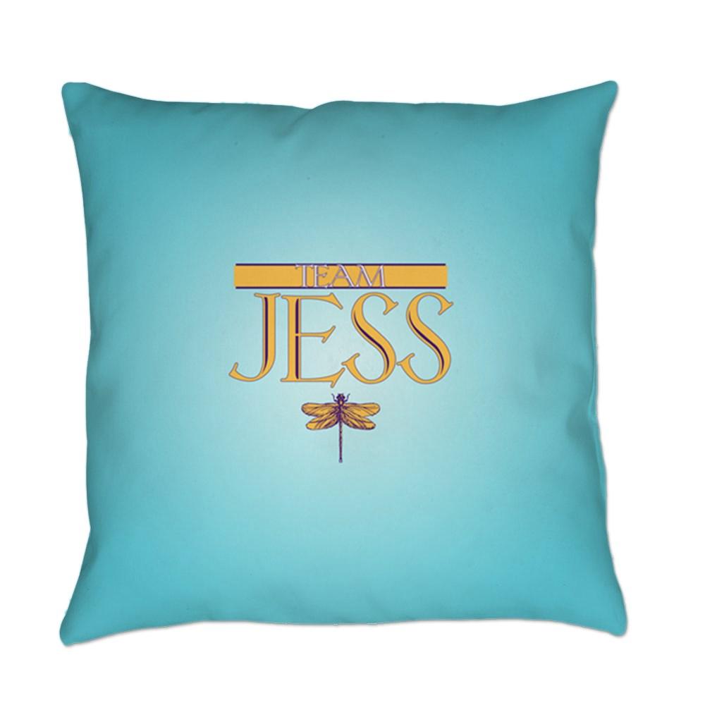 Team Jess Everyday Pillow