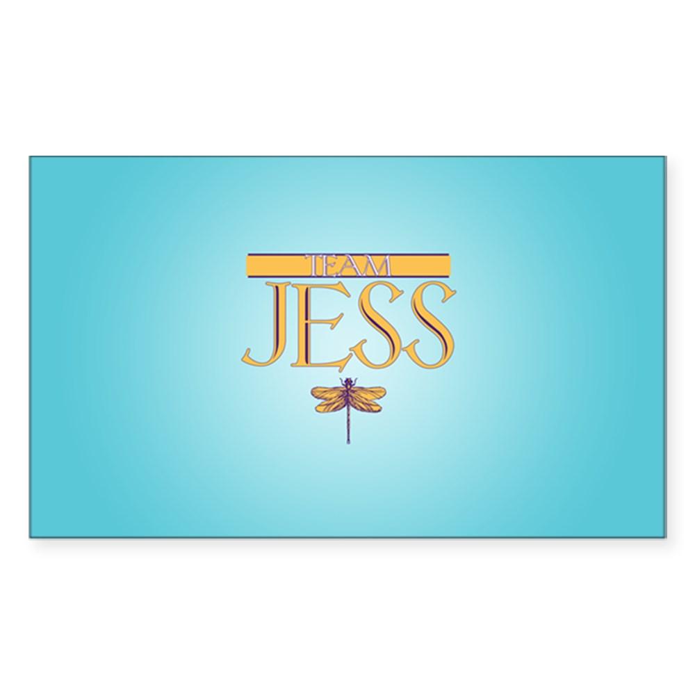 Team Jess Rectangle Sticker