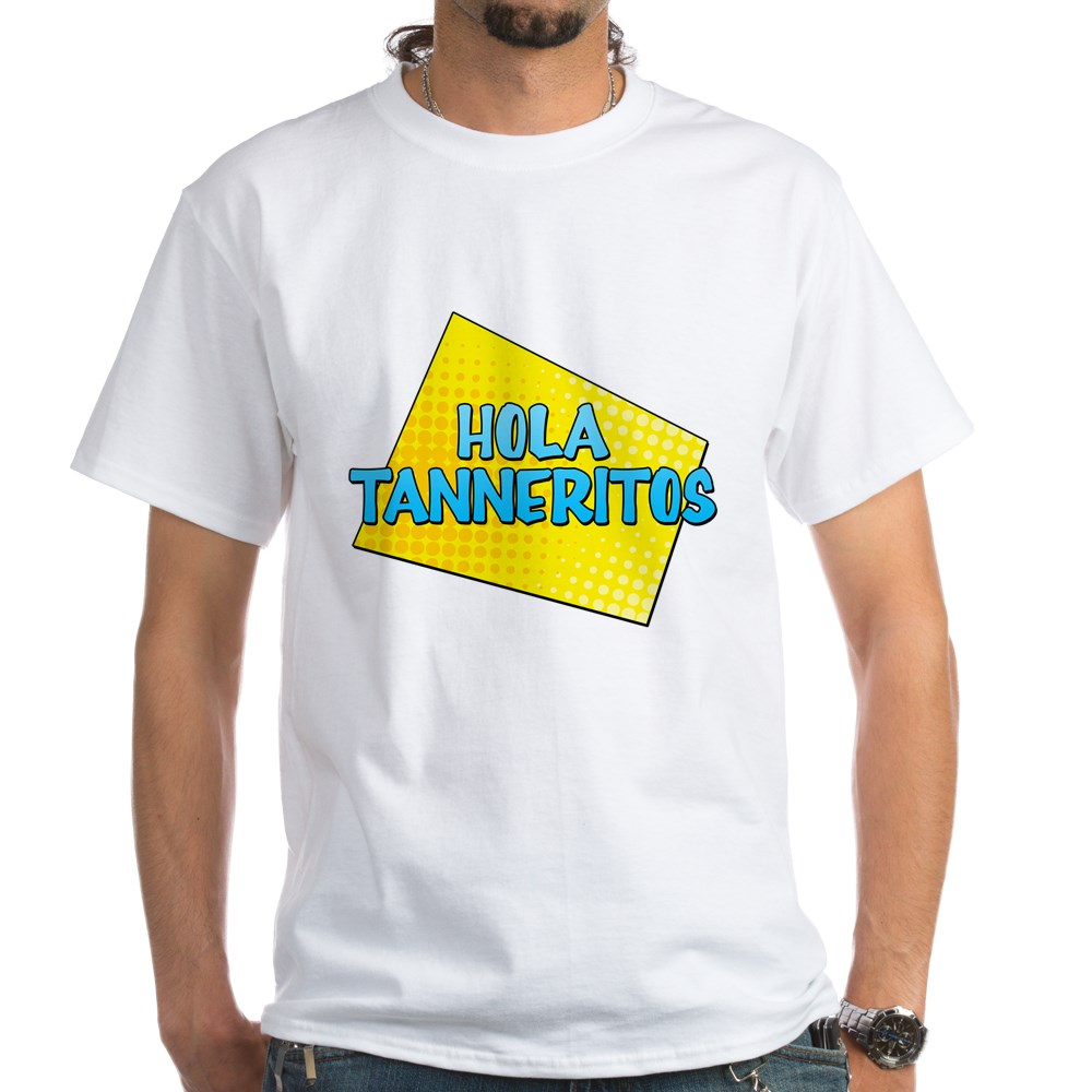 Hola Tanneritos White T-Shirt
