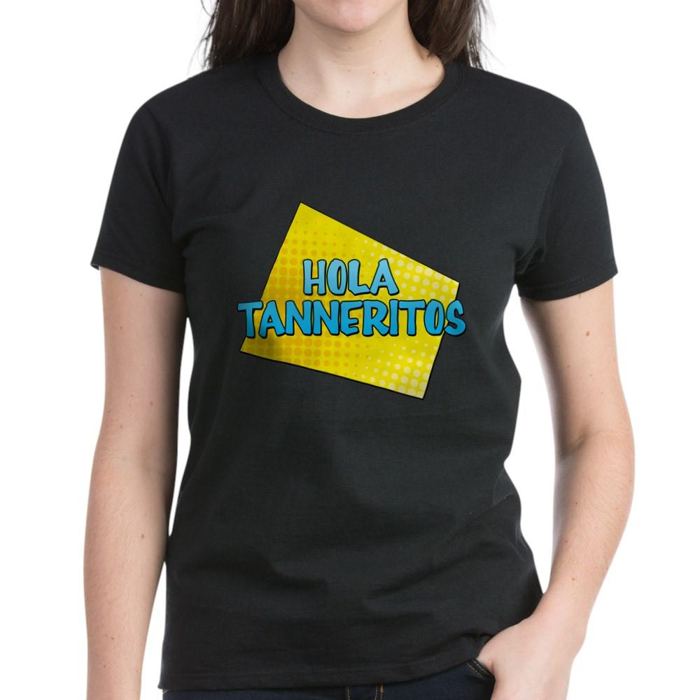 Hola Tanneritos Women's Dark T-Shirt