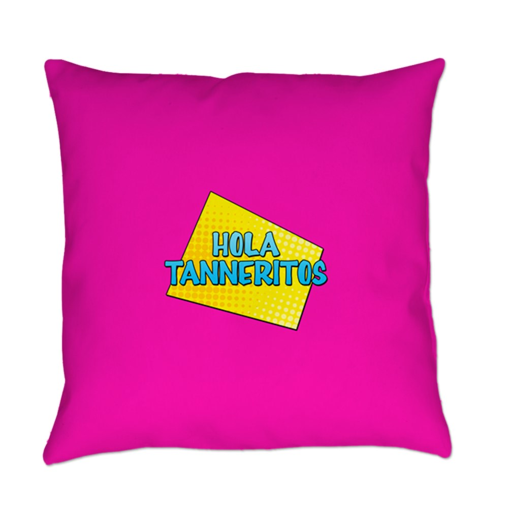 Hola Tanneritos Everyday Pillow