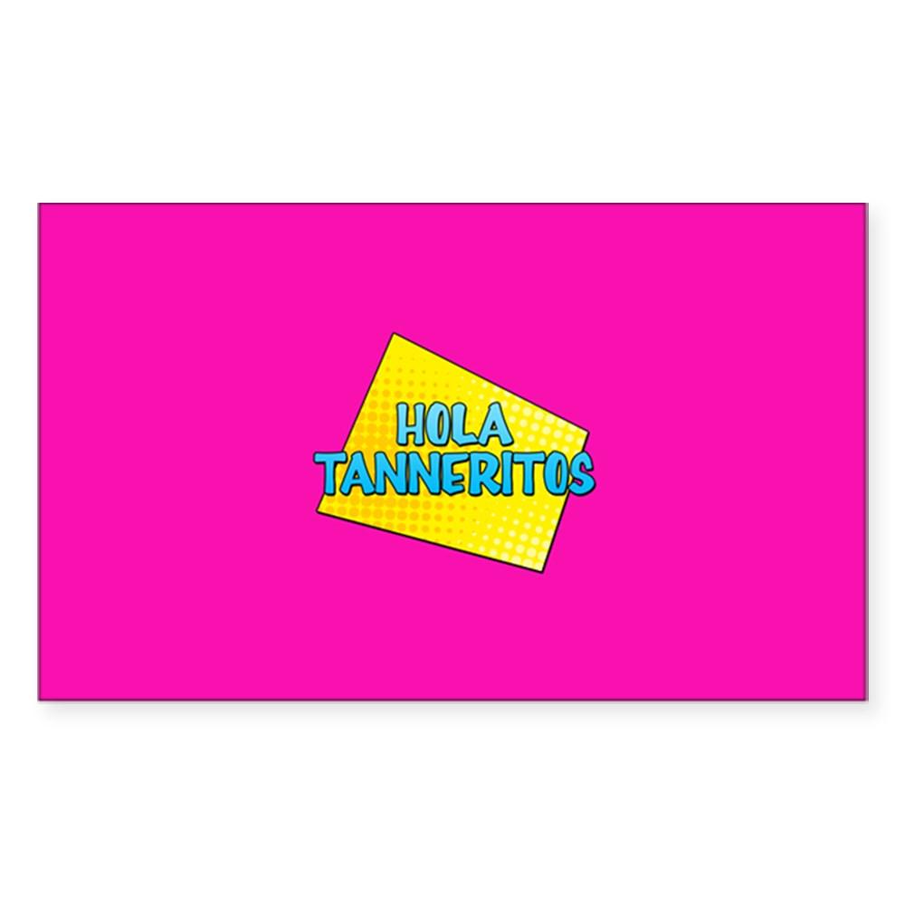 Hola Tanneritos Rectangle Sticker