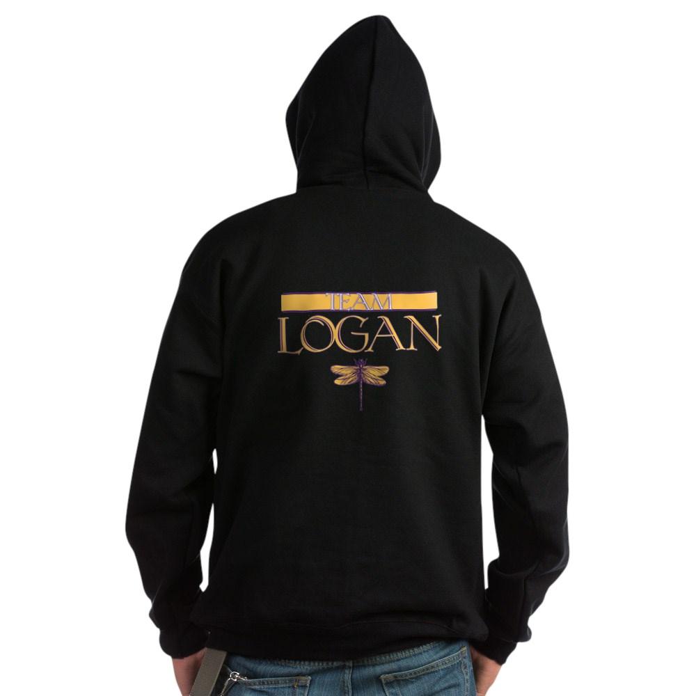 Team Logan Dark Hoodie