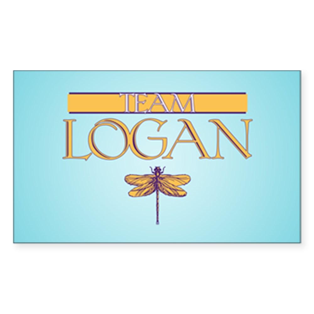Team Logan Rectangle Sticker