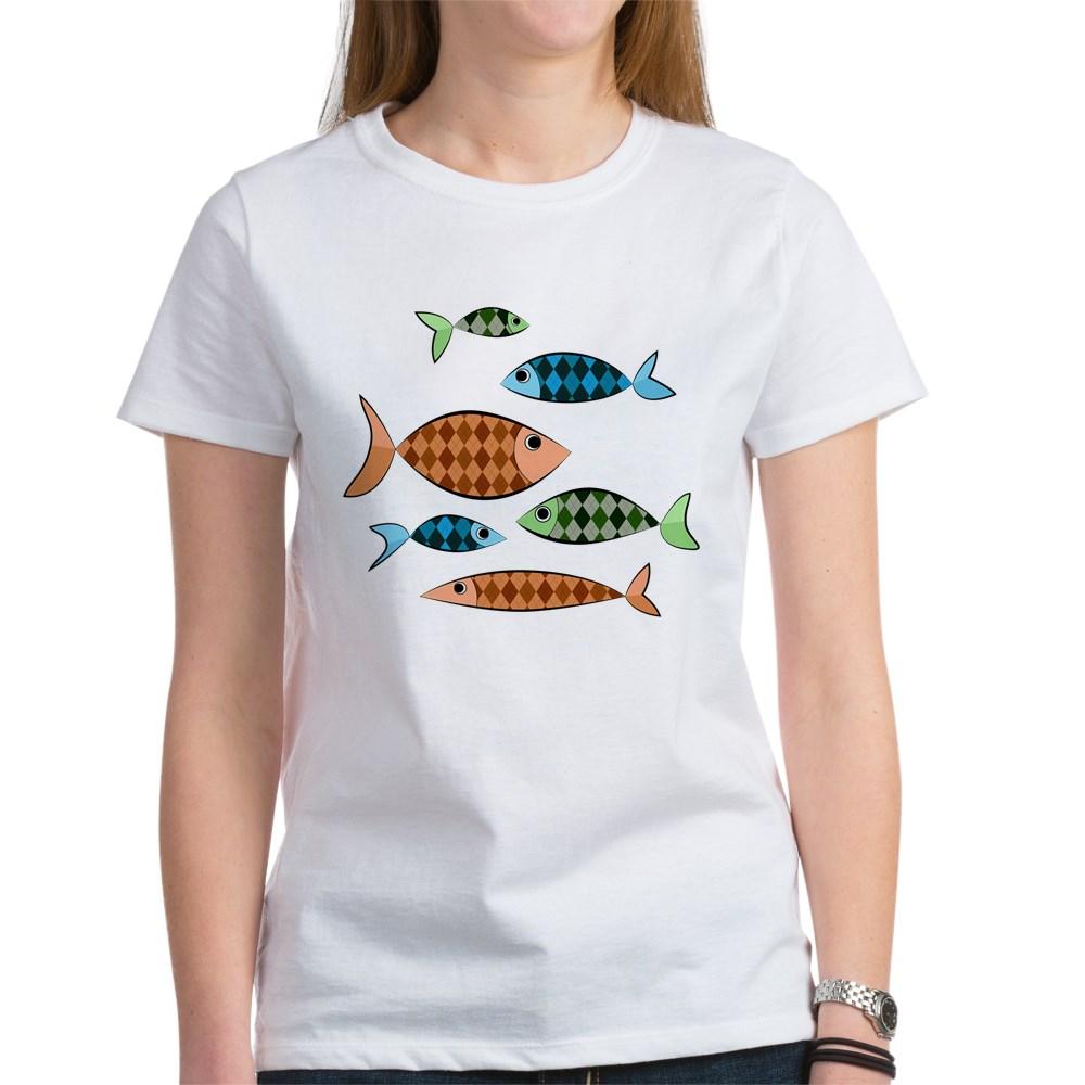 Argyle Fish Women's T-Shirt