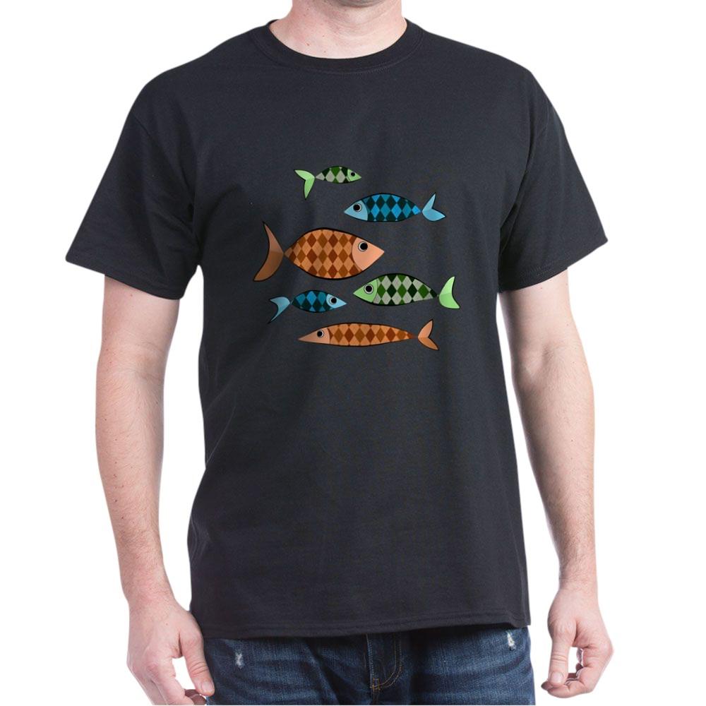 Argyle Fish Dark T-Shirt