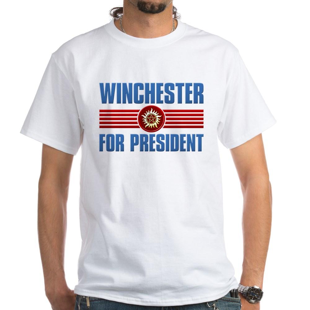 Winchester for President White T-Shirt