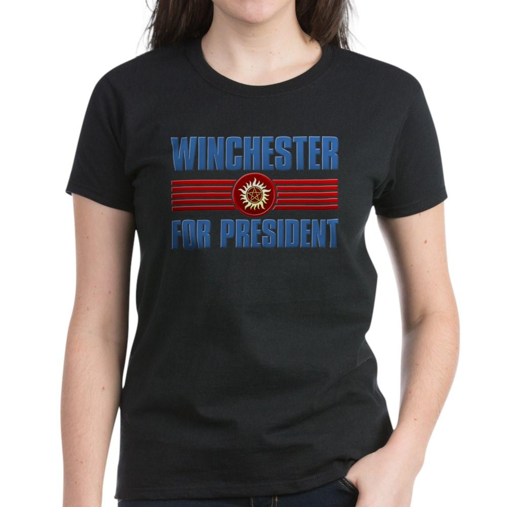 Winchester for President Women's Dark T-Shirt