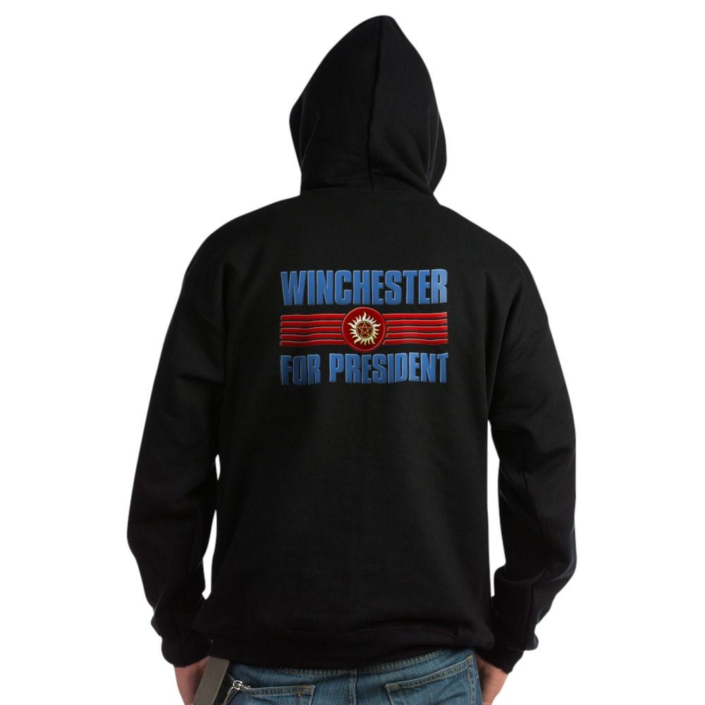 Winchester for President Dark Hoodie