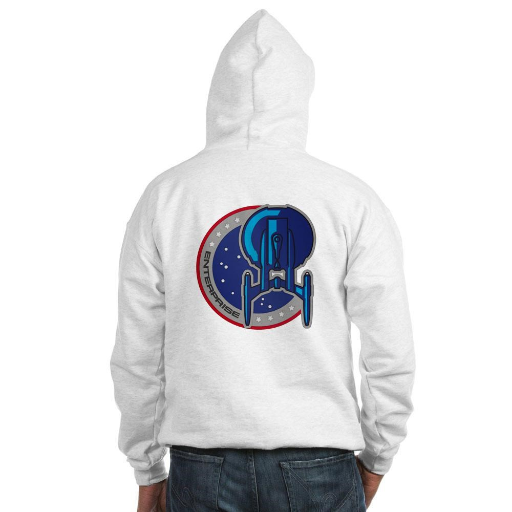 Star Trek: Enterprise Patch Hooded Sweatshirt