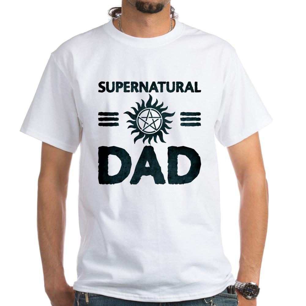 Supernatural Dad White T-Shirt