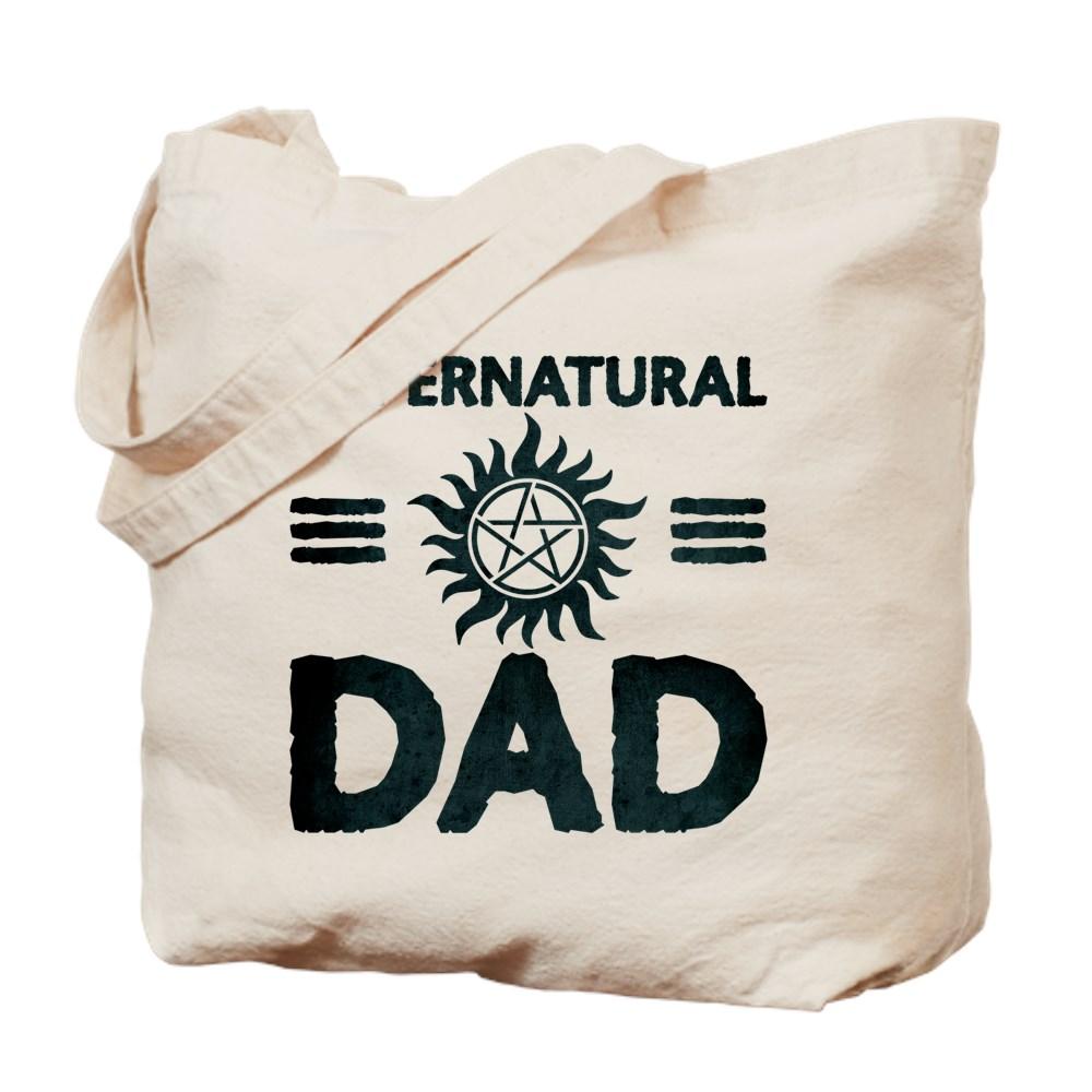 Supernatural Dad Tote Bag