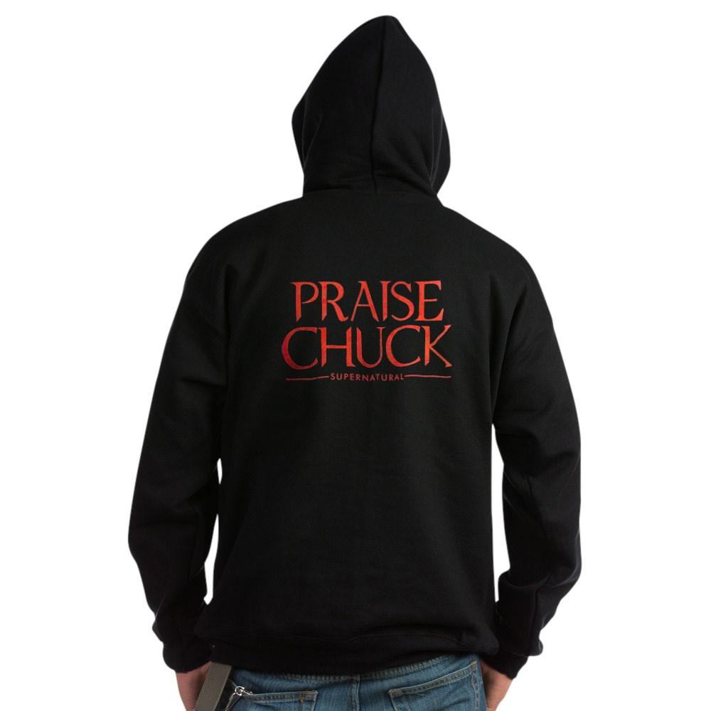 Praise Chuck Dark Hoodie